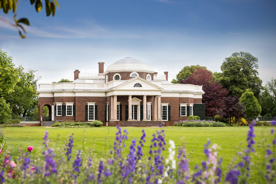 Thomas Jeffersons hjem i Monticello
