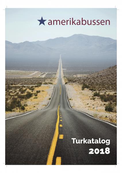 Amerikabussen turkatalog 2018